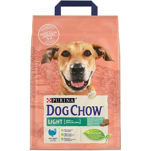 Purina Dog Chow Light With Turkey Dry Dog Food Bag 2.5kg