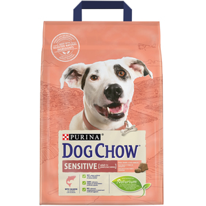 Purina Dog Chow Sensitive With Salmon Dry Dog Food Bag 2.5kg