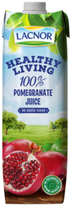 Lacnor Healthy Living Pomegranate Juice 1L