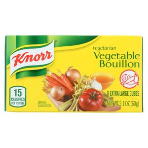 Knorr Vegetable Stock Cubes 18g 16+8free