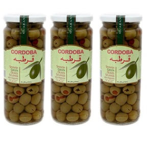 Cordoba Stuffed Green Olives 3x285g