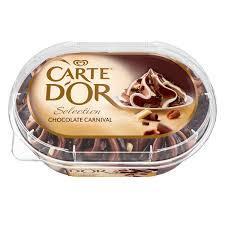 Carte D'or Selection Chocolate Ice Cream 850ml