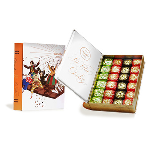 Assorted Chocolate Book Tin Box 490g