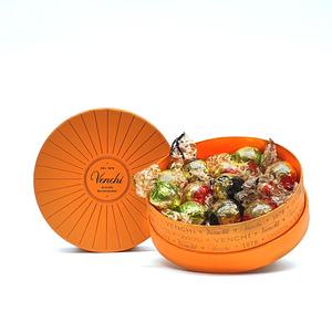 Assorted Chocolates Round Orange Box 118g