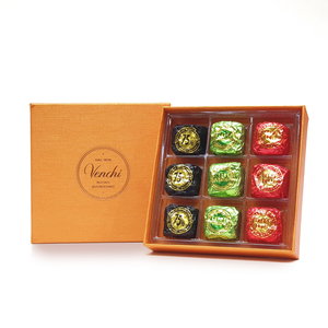 Assorted Chocolates Square Orange Box 180g