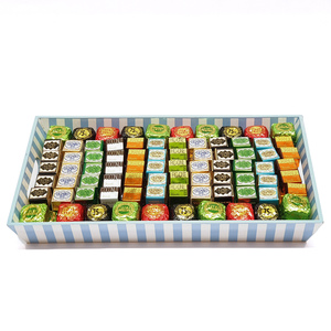 Assorted Chocolates Blue Rectangle Tray 2.45kg