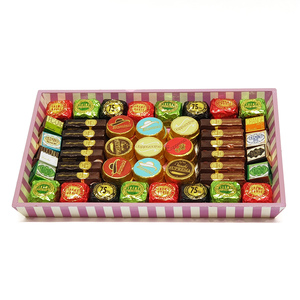 Assorted Chocolates Pink Rectangle Tray 838g