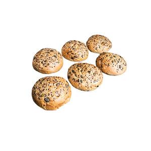 Burger Bun Multi Seeds 6pcs