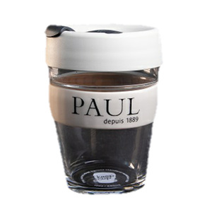 Paul Keep Cup Glass Beige 340ml