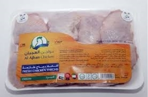 Al Ajban Fresh Chicken Thighs Boneless 500g