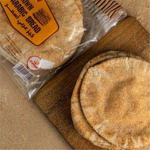 Al Ameen Brown Arabic Bread 200g