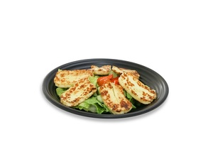 Olio's Grilled Halloumi with Green Salad 1s