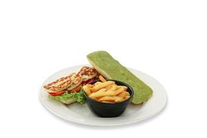 Olio's Grilled Halloumi Sandwich 1s