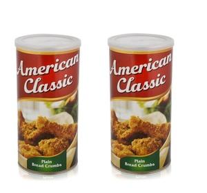 American Classic Bread Crumbs 2x425g