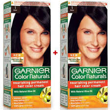 Garnier Color Naturals Black 2pc