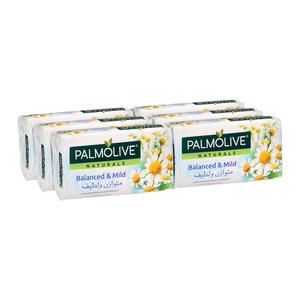 Palmolive White Chamomile & Vitamin E Soap 6x170g
