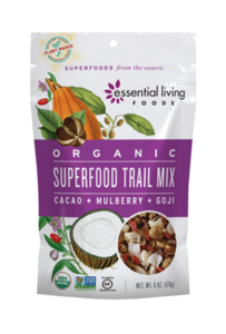 Essential Living Foods Superfood Trail Mix Org 170g
