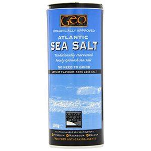 Geo Organic Atlantic Sea Salt Fine 500g
