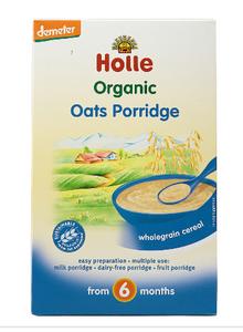 Holle Rolled Oats Porridge 250g