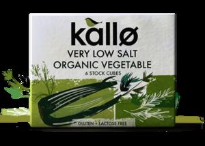 Kallo Low Salt Vegetable Stock 60g