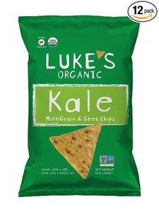 Lukes Organic Kale Multigrain Chips 142g