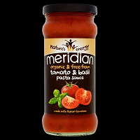 Meridian Tomato Basil Pasta Sauce 350g