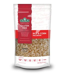 Orgran Rice And Corn Macaroni 250g