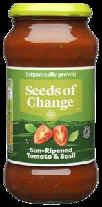 Seeds Of Change Tomato Basil Sauce 500g