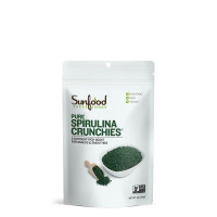 Sunfood Pure Spirulina Crunchies 113g