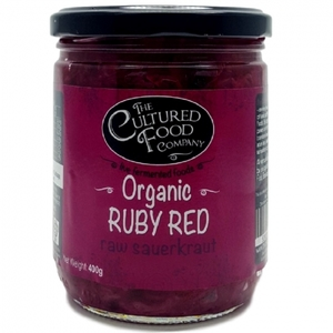 The Cultured Food Co Org Ruby Red Sauerkraut 400g