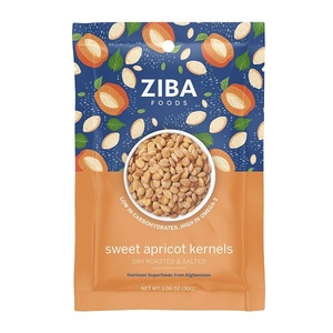 Ziba Dry Roasted & Salted Sweet Apricot Kernels 30g