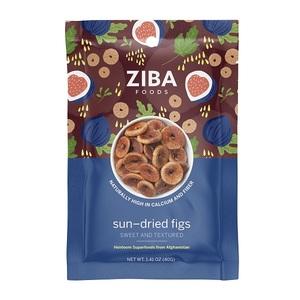 Ziba Sun-Dried Figs 40g