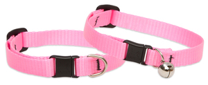 Lupine Original Pink Cat Collar With Safety Buckle 21-30cm