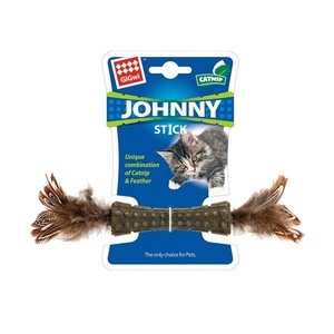 Gigwi Catnip Johnny Stick With Double Side Natura 1s