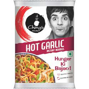 Chings Hot Garlic Noodles 60g