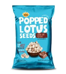 Popped Lotus Seed- Cocoa & Sea Salt 35g