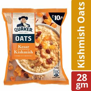 Quaker Oats Kesar With Dry Grapes 28g