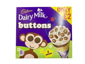 Cadbury Icecream Cad Buttons 400ml