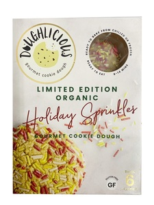 Doughlicious Limited Edition Holiday Sprinkles 204g