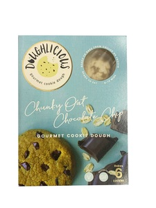 Doughlicious Chunky Oat Choc Chip Cookie Dough 204g