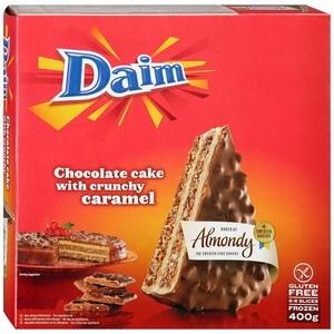 Almondy Daim Cake Choco Caramel 400g