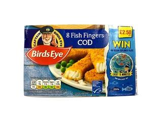 Birds Eye Cod Fish Fingers 224g