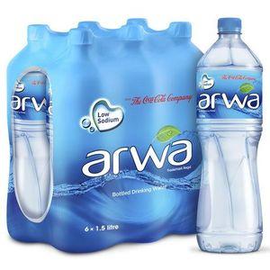 Arwa Drinking Water 6x1.5L