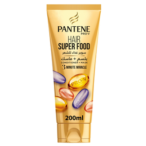 Pantene Pro-V Hair Super Food 3 Minute Miracle Conditioner 200ml
