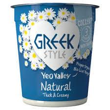 Yeo Valley Greek Style Natural Yogurt 150g