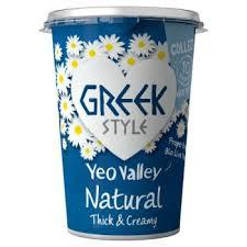 Yeo Valley Greek Style Natural 450g