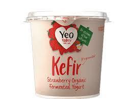 Yeo Valley Yeo Kefir Strawberry 350g
