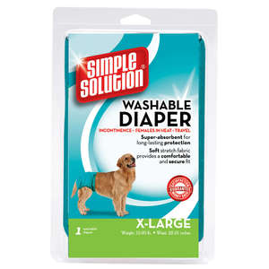 Simple Solution Extra Large Washable Diaper For Dogs 55.8 - 89Cm