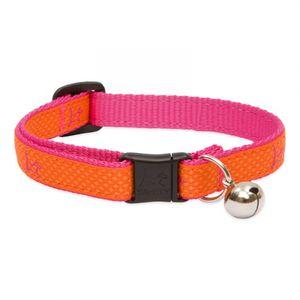 Lupine Original Orange Cat Collar With Safety Buckle 21-30cm