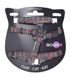 Bobby Brown Extra Small Harness & Leash With Bell For Cats 1pc